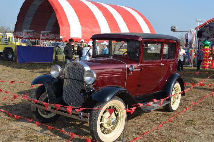 古董吉普車展示