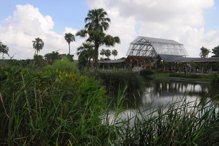 農博基地經過數月休養生息,未來將變身為農博生態公園, 7月下旬重新開幕。