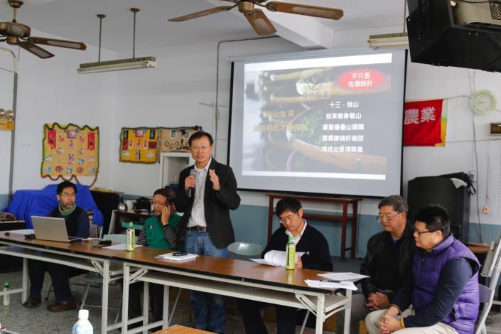 計畫處陳東松處長表示,期盼透過有機農業的轉作鼓勵政策,在生產、技術、通路等面向建立農友轉作信心與實質協助。