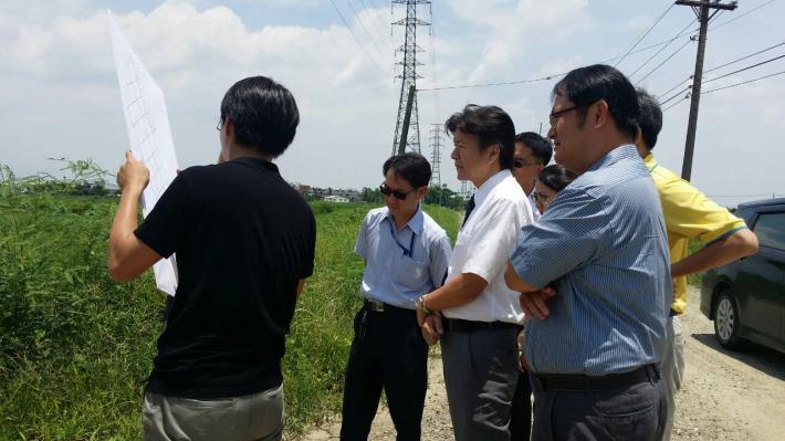 彰化縣政府至溝壩有機農業園區參觀。