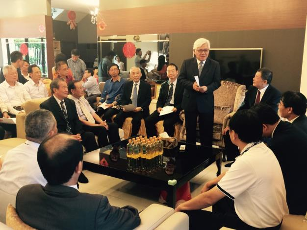 雲林縣政府參訪馬來西亞產業交流座談會 李縣長參訪