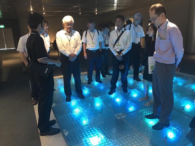 觀摩新加坡公用事業局新生水廠2