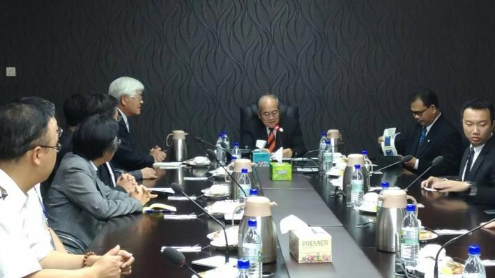 發展新南向商機 雲縣府考察團與砂勞越州政府外資會報進行投資座談會