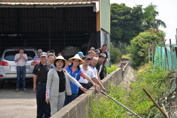公館農地重劃區排水阻塞嚴重
