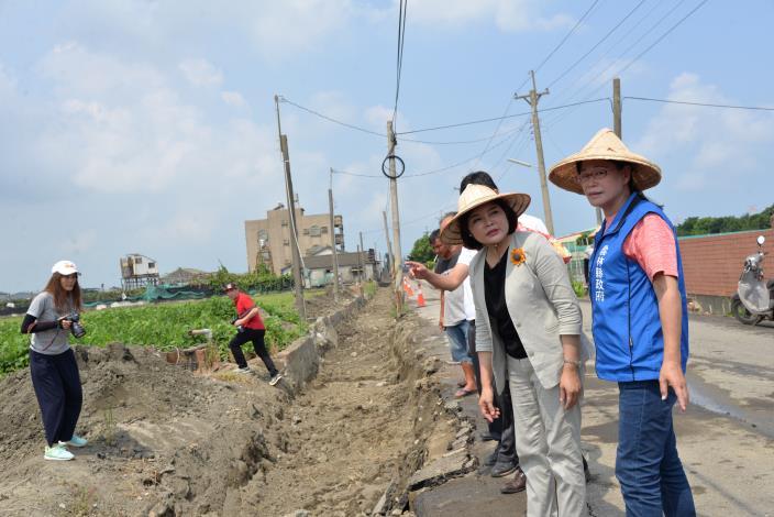 草湖農地重劃區農水路改善