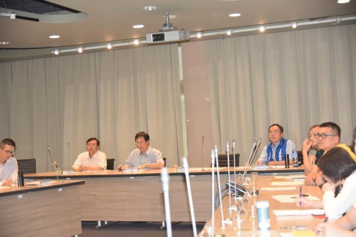 跨局處防疫整備會議1