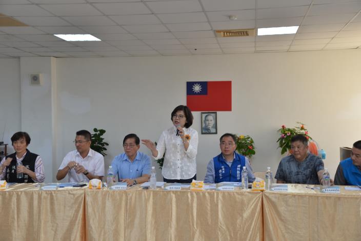 張縣長說明推動臺西地區產業及觀光發展