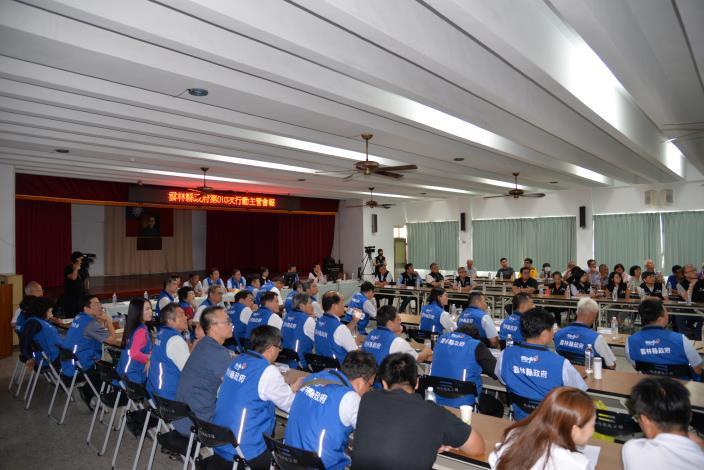 縣府行動主管會,今(24)日報移師北港舉行。