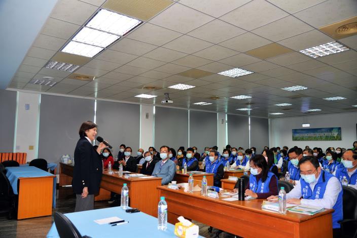 縣府也藉此交流會議與莿桐鄉公所討論地方創生。