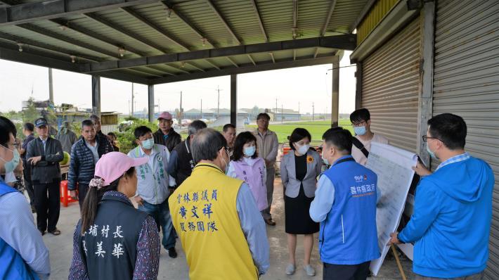 縣長張麗善表示,並因去年清疏成效有果,今日要求水利處針對去年仍淹水地區及全縣淤積嚴重進行盤點。