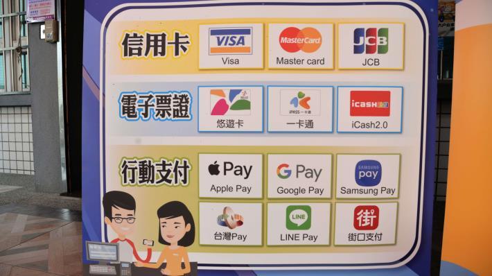 雲林縣戶政事務所引用中華電信多元支付機提供12種方式繳納規費