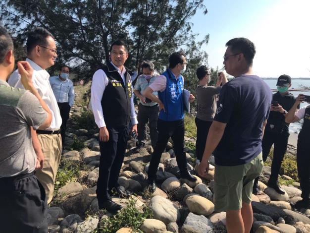 爭取國際風箏衝浪學校掛牌雲林  四湖三條崙海水浴場創生再發展2