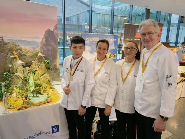 雲林子弟廖正宇 勇奪德國奧林匹克廚藝大賽金牌