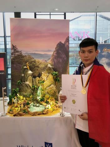 雲林子弟廖正宇 德國奧林匹克廚藝大賽勇奪金牌
