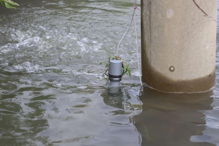 淹水感知器。