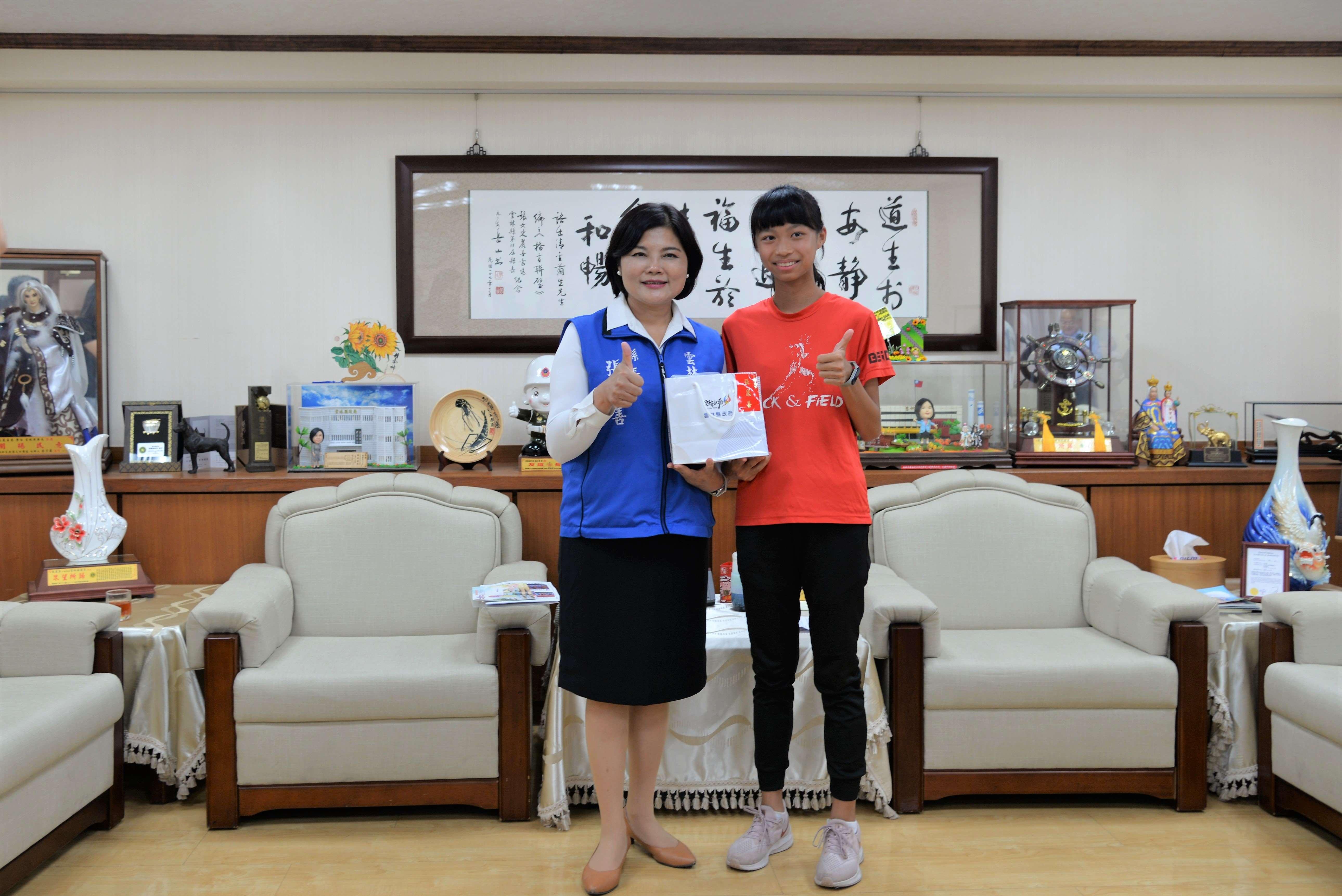 北辰國小王宥晴同學,已接連在全國各地征戰,獲獎無數,更贏得台灣最速女封號