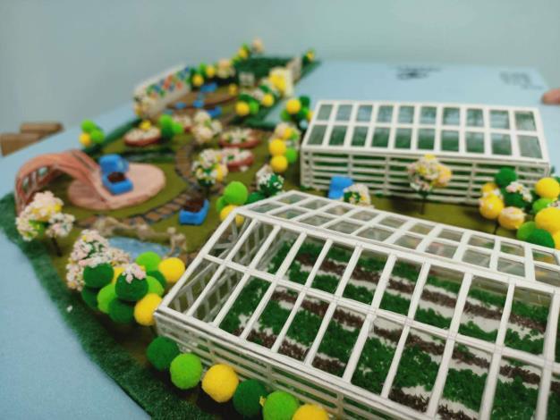 溫室景觀模型2
