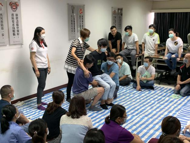 雲林縣政府舉辦急救人員證照訓練班