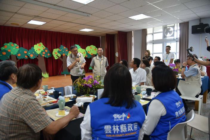 柯市長表示 未來雙方在e化及實驗教育上多交流,並允諾推動古坑咖啡節合作.JPG