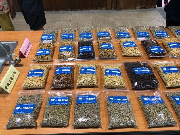 來自全縣62件咖啡豆,7月31日至8月2日連續3天進行評鑑