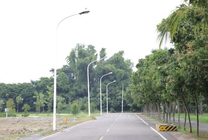 林內新興自辦市地重劃區路燈昏暗,地方盼能改善。