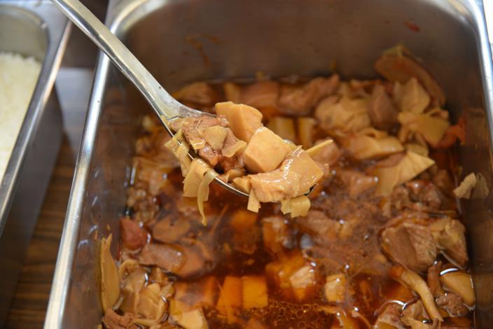 斗南食物日9月主題為竹筍,包括日式竹筍燉肉等料理