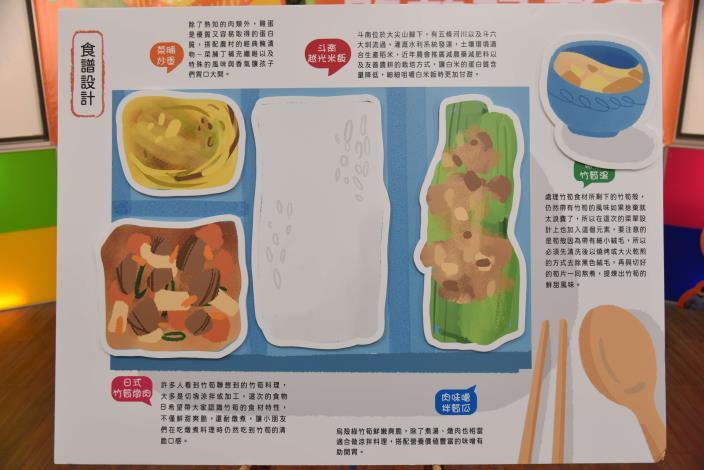 食物日營養午餐食譜設計