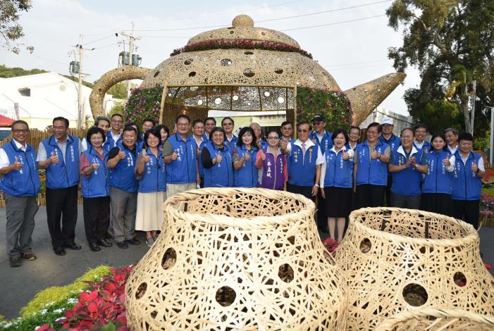 張縣長率縣府團隊參訪南投茶博 為雲林宣傳「台灣咖啡節」及「雲林咖啡半程馬拉松」001