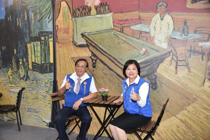 張縣長率縣府團隊參訪南投茶博 為雲林宣傳「台灣咖啡節」及「雲林咖啡半程馬拉松」005