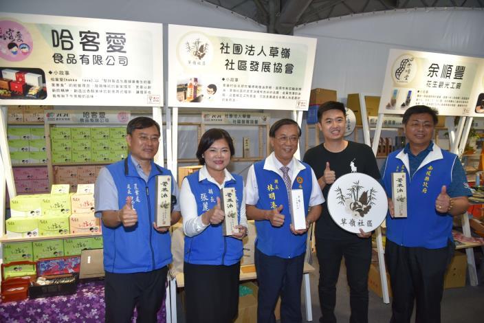 張縣長率縣府團隊參訪南投茶博 為雲林宣傳「台灣咖啡節」及「雲林咖啡半程馬拉松」019