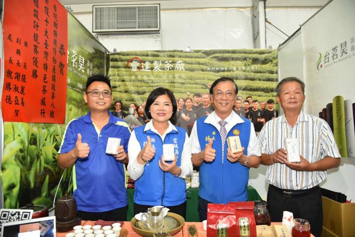 張縣長率縣府團隊參訪南投茶博 為雲林宣傳「台灣咖啡節」及「雲林咖啡半程馬拉松」002