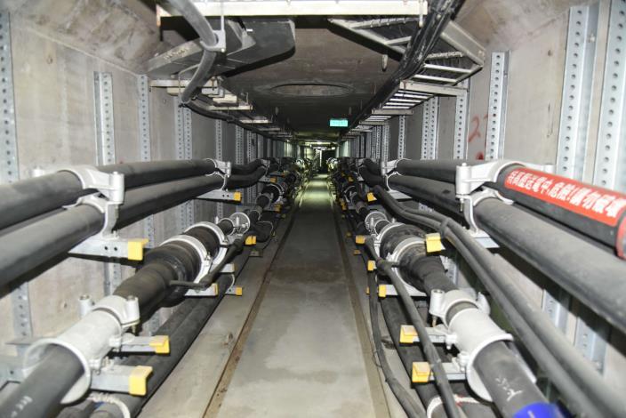 共同管線地下化維護道路路面及路基平整