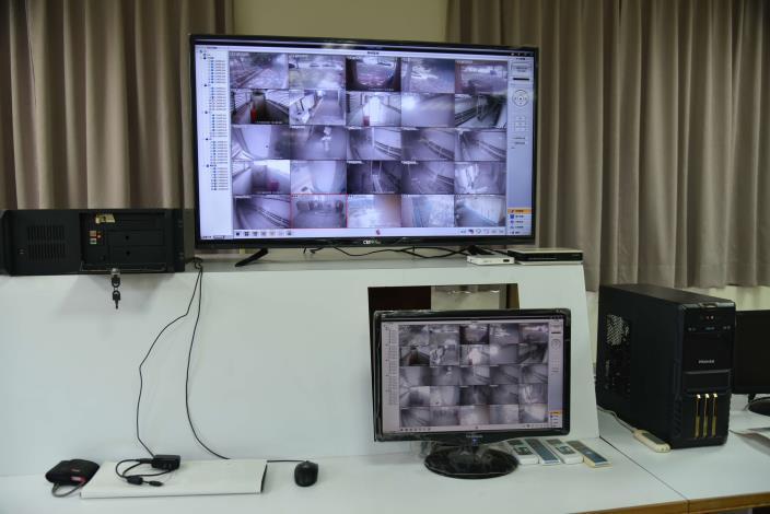 共同管線監控中心24小時配置人員巡視
