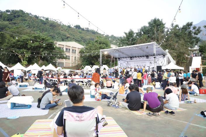 第18屆台灣咖啡節,結合音樂、野營,呈現不同以往的風貌。