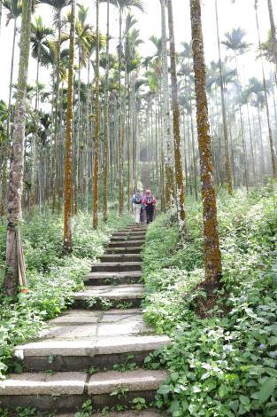 縣府盤點華山、華南地區步道並進行整建,提供山友更優質的登山環境及體驗。
