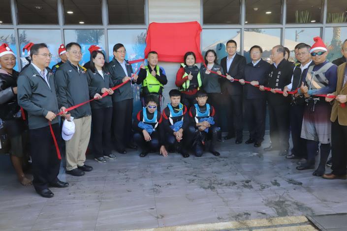 雲林國際風箏衝浪學校揭牌003