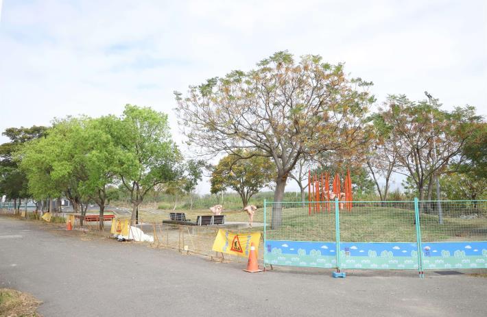 林內寶隆兒童遊戲空間再造工程已完工,預計農曆年前可開放使用。