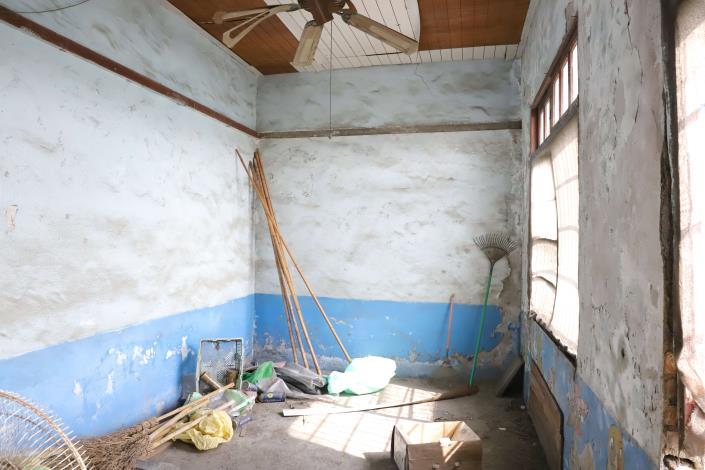 水尾社區活動中心老舊,地方期盼修繕。