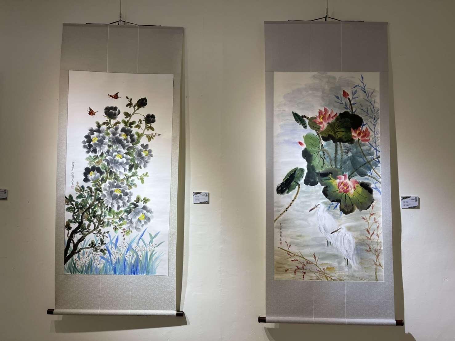 驚豔—李秀美、包怡倩雙人展  文化觀光處展覽館1樓展出