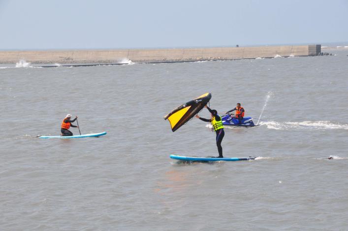 推廣水域安全教育 縣府結合風箏衝浪舉辦研習活動005