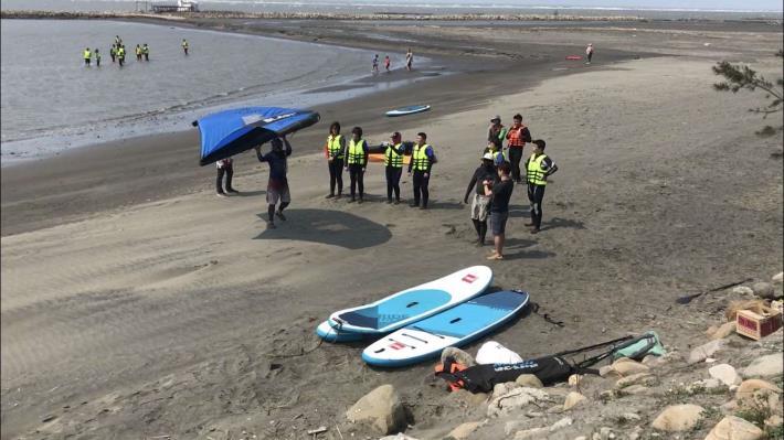 推廣水域安全教育 縣府結合風箏衝浪舉辦研習活動012