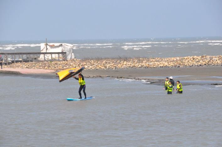 推廣水域安全教育 縣府結合風箏衝浪舉辦研習活動007