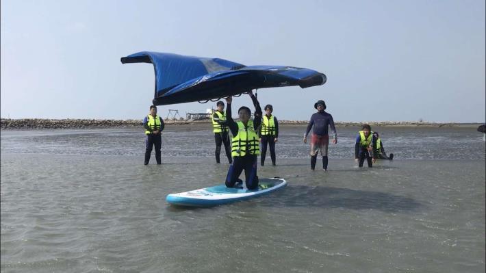 推廣水域安全教育 縣府結合風箏衝浪舉辦研習活動004