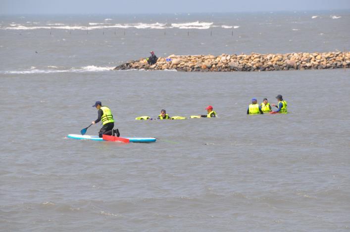 推廣水域安全教育 縣府結合風箏衝浪舉辦研習活動002