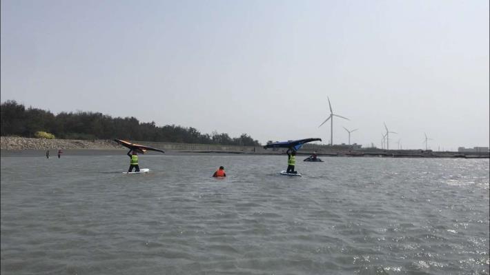 推廣水域安全教育 縣府結合風箏衝浪舉辦研習活動013