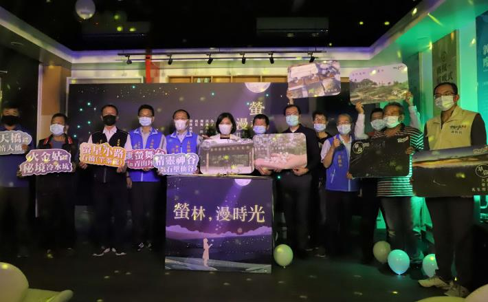 雲林縣府推11條遊程,邀民眾來賞螢享受漫時光。
