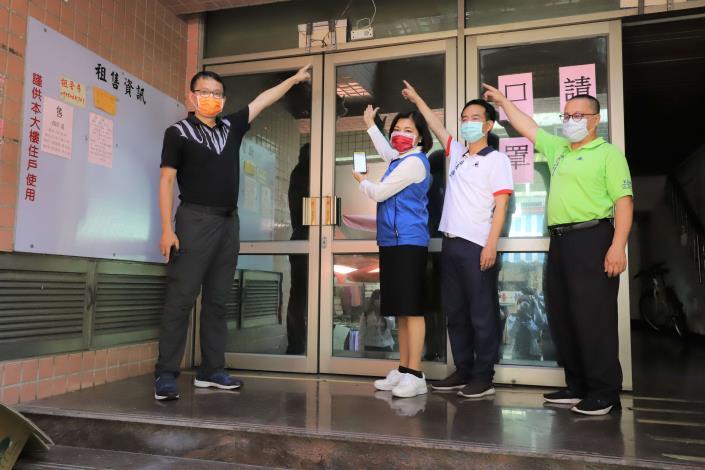 雲林縣府推出全國首創科技人流群聚偵測,防止傳統市場成防疫破口。