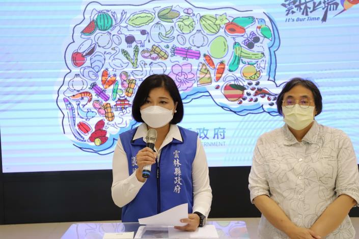 張縣長今日上午召開記者會,針對疫苗施打產生的爭議作說明。