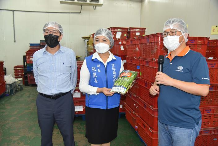 縣內蔬果包裝安全無虞請消費者安心選購