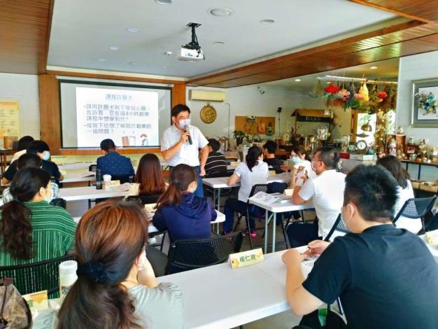 縣府規劃創業知能課程,協助青年逐夢。